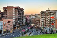 Views of Lleida city at Catalonia Spain Royalty Free Stock Image