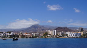 Views of Los Cristianos Stock Image