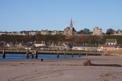 Views of Lossiemouth Royalty Free Stock Image