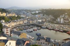 Views of Luarca Stock Photos