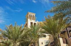 Views of Madinat Jumeirah hotel Stock Image