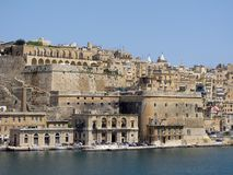 Views of the Maltese island Royalty Free Stock Images