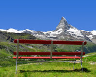 Views of the Matterhorn Stock Photos