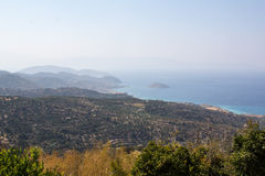 Views of Mirabello Bay. Stock Images
