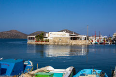 Views of Mirabello Bay. Royalty Free Stock Photography