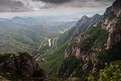 Views from Montserrat, Spain Royalty Free Stock Images