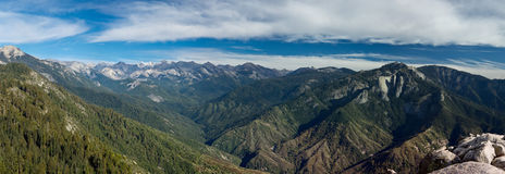 Views from Moro Rock Stock Image