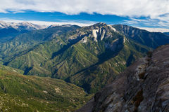Views from Moro Rock Stock Photos