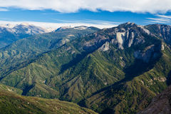 Views from Moro Rock Royalty Free Stock Image