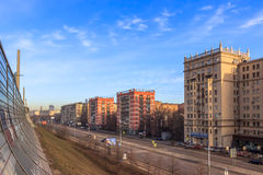 Views of Moscow,cityscapes,Moscow in the spring Stock Photo