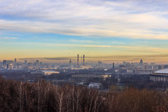 Views of Moscow,Moscow in the spring Stock Photo