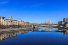 Views of Moscow,Moscow in the spring Stock Photography