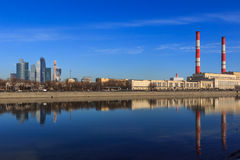 Views of Moscow,Moscow in the spring Stock Images
