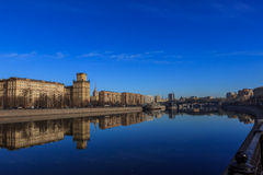Views of Moscow,Moscow in the spring Stock Image