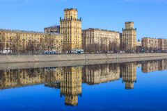 Views of Moscow,Moscow in the spring Royalty Free Stock Photography