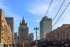 Views of Moscow,skyline,spring in Moscow Stock Photo