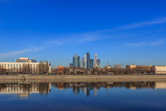 Views of Moscow,skyline,spring in Moscow Stock Images