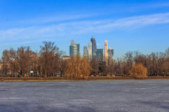 Views of Moscow,skyline,spring in Moscow Stock Photography