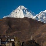 Views of Mount Dhaulagiri Stock Photos