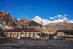 Views of Mount Kazbek Stock Image