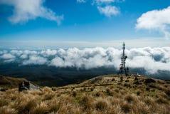 Views from mount Taranaki Stock Photos
