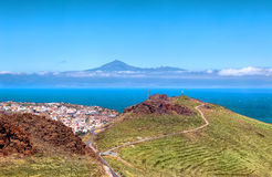 Views of Mount Teide Royalty Free Stock Images