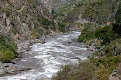 Views of the Streams Near Machu Picchu royalty free stock images