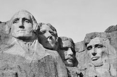 Views of Mt Rushmore Royalty Free Stock Photography