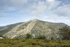 Views of Navacerrada Ski resort Royalty Free Stock Photos