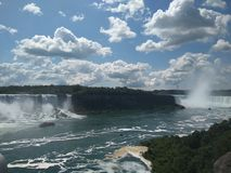 Panoramic view Niagara Falls Royalty Free Stock Image