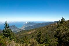 Views of the north coast of Madeira Royalty Free Stock Photos