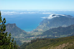 Views of the north coast of Madeira Royalty Free Stock Image