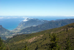 Views of the north coast of Madeira Stock Photo