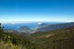 Views of the north coast of Madeira Royalty Free Stock Images