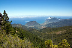Views of the north coast of Madeira Stock Images