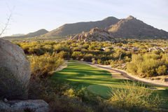 Views of North Scottsdale valley near Cavecreek with views of golf course and Black Mountain