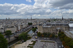 Views from Notre Dame, Paris Stock Photo