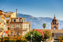 Free Views Of Taormina Stock Image - 108432491