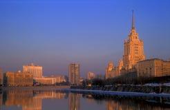Views Of The Ukraina Hotel Royalty Free Stock Photo