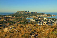 Views over Alcudia Stock Photo