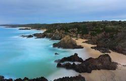 Views overthe coast  Bingie NSW Australia Stock Photography