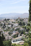 Views over historic Granada, Spain, Andalusia Stock Photos