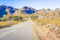 Views at Pakhuis Pas in South Africa Royalty Free Stock Images