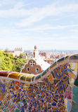 Views from the Parc Guell Royalty Free Stock Image