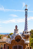 Views from the Parc Guell Royalty Free Stock Photos