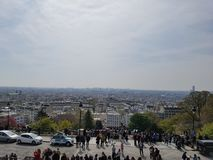 Views of Paris stock image