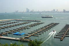 Views of Pattaya, Thailand Royalty Free Stock Photography