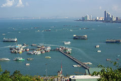 Views of Pattaya, Thailand Royalty Free Stock Photos