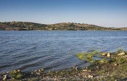 Views of the Pedrezuela Reservoir Royalty Free Stock Photos
