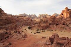 Views of Petra Stock Photos